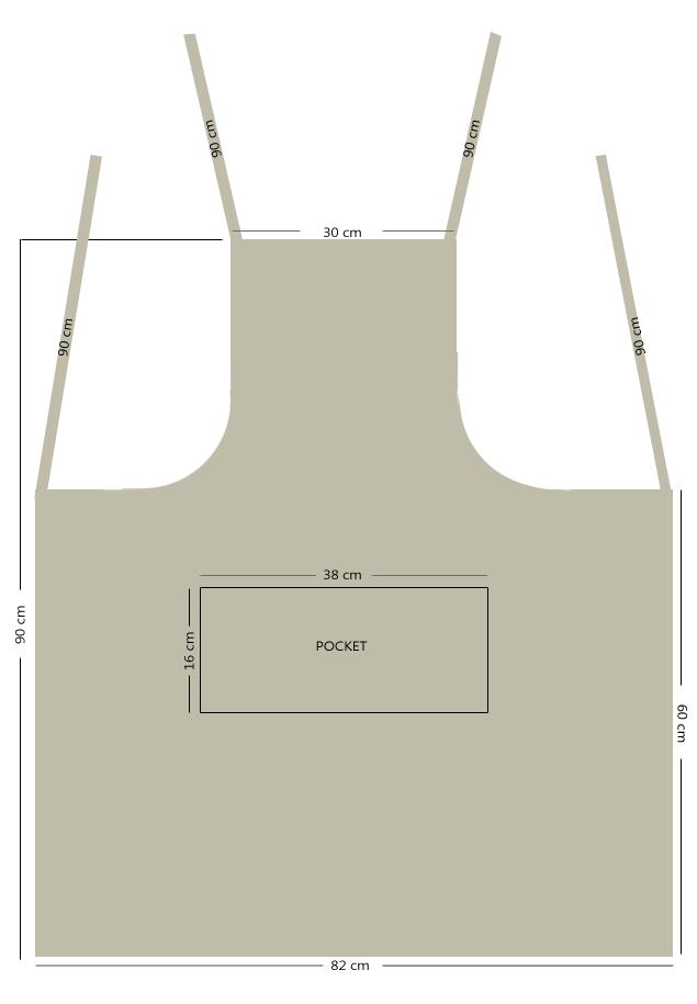 Custom Apron Dimensions
