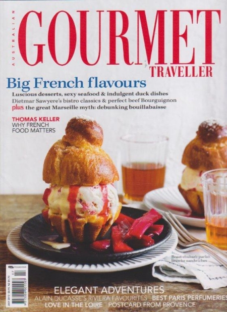 PURE LINEN featured in Gourmet Traveller