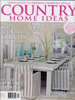 PURE LINEN featured in Country Home Ideas Vol10 No5