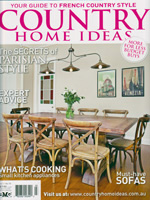 PURE LINEN featured in Country Home Ideas Vol11 No10