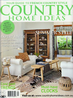 PURE LINEN featured in Country Home Ideas Vol11 No4