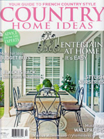 PURE LINEN featured in Country Home Ideas Vol11 No9