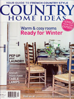 PURE LINEN featured in Country Home Ideas Vol12 No10