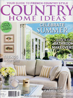 PURE LINEN featured in Country Home Ideas Vol12 No05