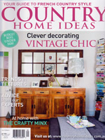 PURE LINEN featured in Country Home Ideas Vol13 No4