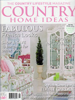 PURE LINEN featured in Country Home Ideas Vol8 No2