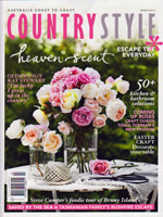 PURE LINEN featured in Country Style March 2013