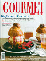 PURE LINEN featured in Gourmet Traveller July 2012