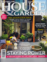 PURE LINEN featured in House & Garden Apr 2014