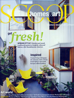 PURE LINEN featured in Scoop Spring 2012
