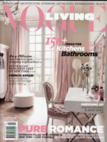 PURE LINEN featured in Vogue Living March 2013