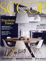 PURE LINEN featured in Scoop Winter 2013