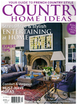 PURE LINEN featured in Country Home Ideas Vol 13 No 10 2014