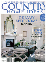 PURE LINEN featured in Country Home Ideas Vol 13 No 11 2014