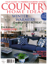 PURE LINEN featured in Country Home Ideas Vol 13 No 12 2014