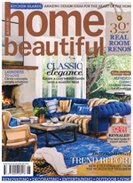 PURE LINEN featured in Home Beautiful June 2014