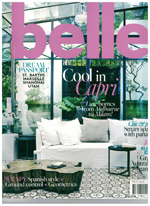 PURE LINEN featured in Belle Feb-Mar 2013