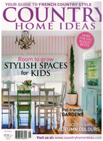 PURE LINEN featured in Country Home Ideas Vol 15 No 1