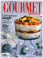 PURE LINEN featured in Gourmet Traveller December 2015
