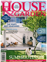 PURE LINEN featured in House & Garden January  2015