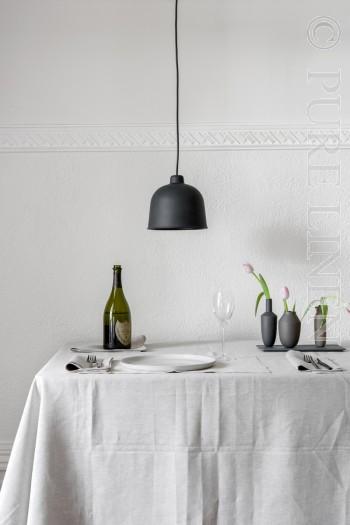 Bistro Napkins 100% linen Colour Semi Natural by PURE LINEN