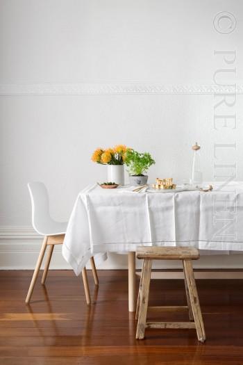 """Diamantina"" table linen - by PURE LINEN"