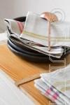"""""""Bertha"""" Linen Tea Towels"""