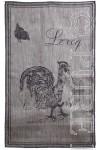 """""""Le Coq"""" Linen Tea Towels"""