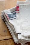 """""""Pure Linen Signature"""" Linen Tea Towels"""