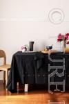 DOTS Napkin Colour Black Size 50X50