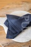 In Style Napkins Single Hem Stitched Colour Denim