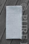 Modern Classic Napkins Herringbone Plain Light Pewter Size 45x45