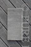 Modern Classic Napkins Single Hem Natural by PURE LINEN