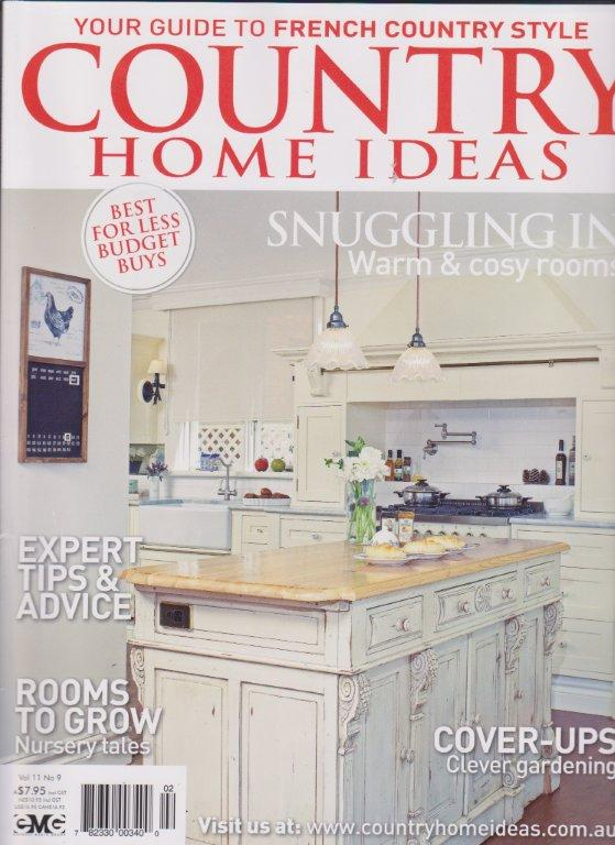 PURE LINEN featured in Country Home Ideas