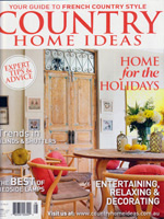 PURE LINEN featured in Country Home Ideas Vol12 No3