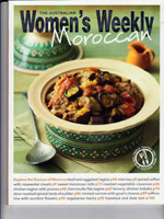 PURE LINEN featured in Womens Weekly Morrocan Recipes