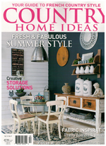 PURE LINEN featured in Country Home Ideas Vol 14 No 9